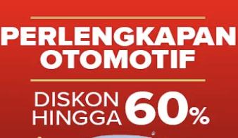 Suka Otomotif? Nikamti Diskon Hingga 60% Beragam Produk Otomotif