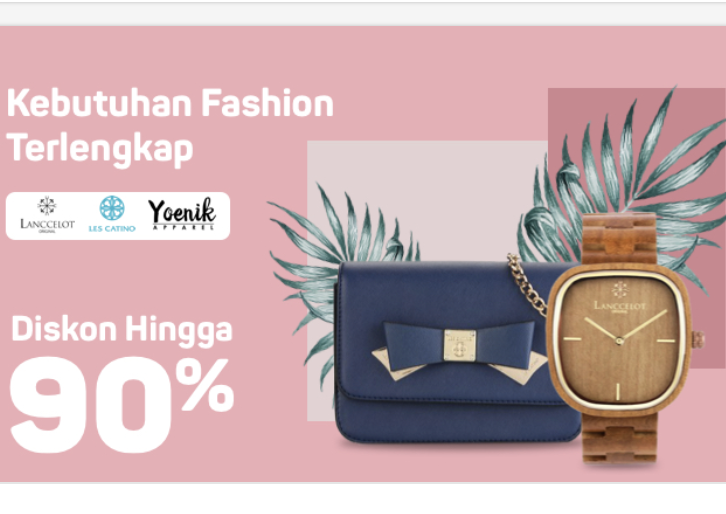 Diskon 90% Fashion Item Wanita