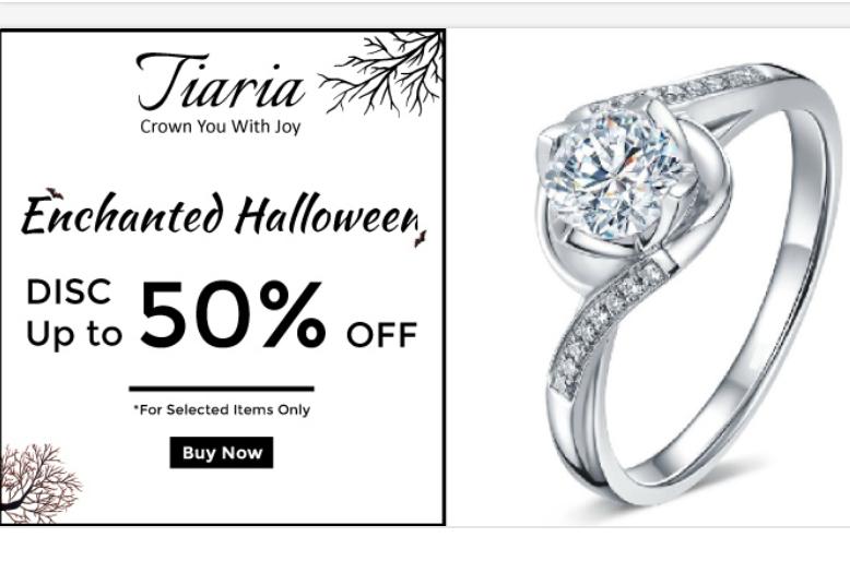 Diskon Perhiasa Tiaria 50%