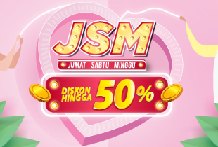 Promo JSM Hanya 3 Hari Up To 50%