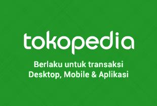 Bayar Tagihan & Top-up Token Listri, Cashback Hingga Rp 75.000 ke Akun Tokopedia!