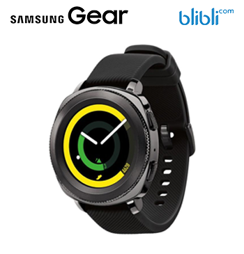 Gear Sport Smartwatch - Black