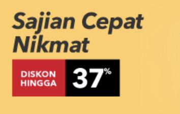 Makanan Cepat Saji Diskon 37% di Primafreshmart