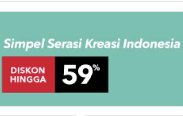 blanja.com Promo Baju Lokal Diskon Hingga 59%