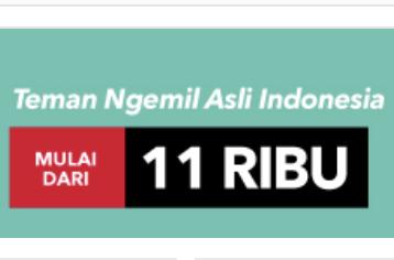 Voucher blanja.com Camilan Khas Indonesia Mulai Dari 11rb