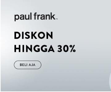 Voucher Mataharimall - Paul Frank Diskon 30%