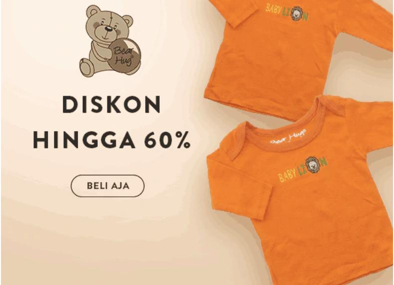 Baju Anak Murah Diskon Hingga 60%