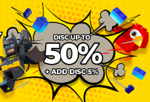 Lego Unbrickable Price! Disc Up To 50% + Ekstra Diskon 5% + Gratis Ongkir