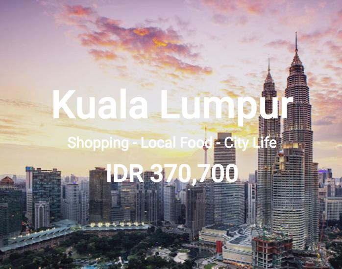 Air Asia Promo Ke Kuala Lumpur Murah Mulai Dari 370rb