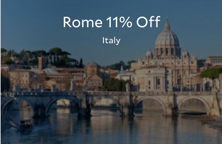 Promo Agoda - Diskon Hotel 11% di Italy