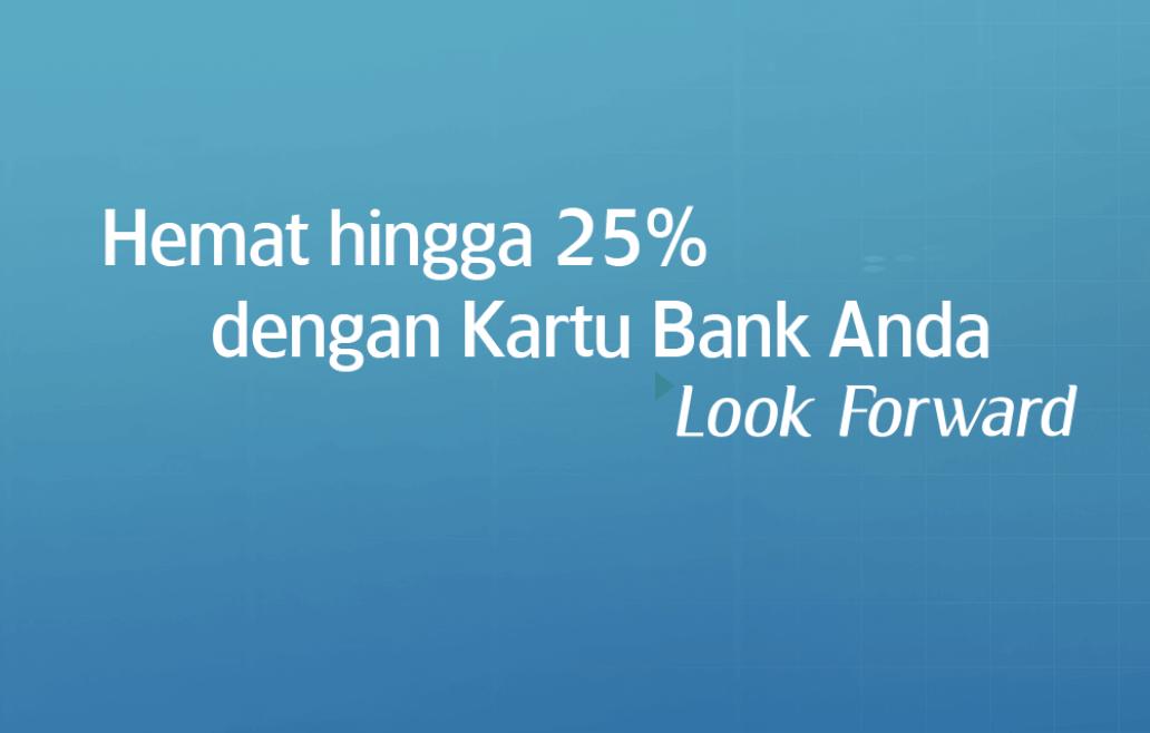 Diskon Hingga 25% Tiket Garuda Pembayaran Dengan Bank Anda
