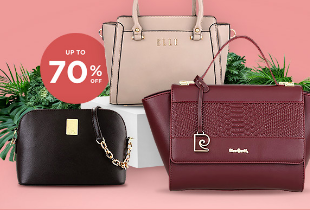Bag Best Deals Up To 70% + Extra Discount 10% + Free Delivery