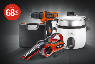Exclusive Clearance Black & Decker Discount Up To 68%