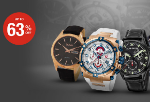 Premium Watch Fair Save Up To 65% + Extra 10% Off + Free Delivery