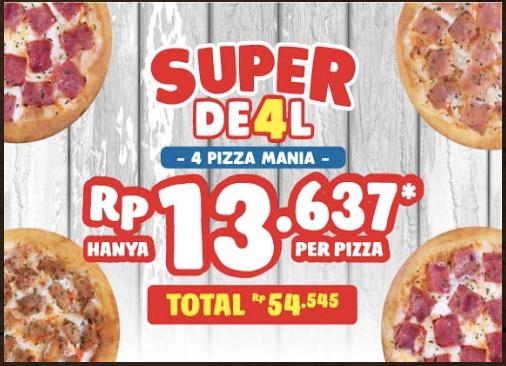 Domino's Pizza Promo Makan Ber 4 Cuma 13rban!