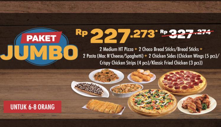 Domino's Pizza Promo  Ber 8 Hanya 228rb