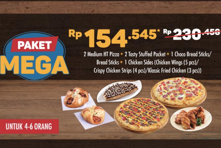 Promo Domino's Pizza - Makan Ber 6 Hanya 154rban