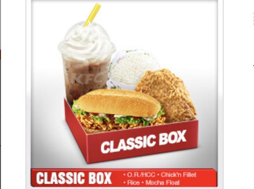 Promo KFC Classic Box Hemat Hanya 36rb