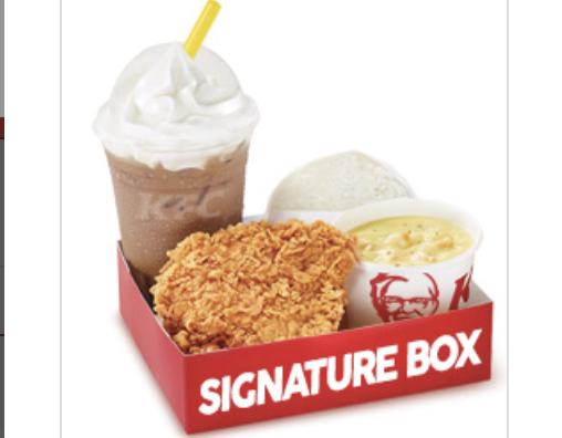 Promo KFC Signature Box Murah Hanya 32rb