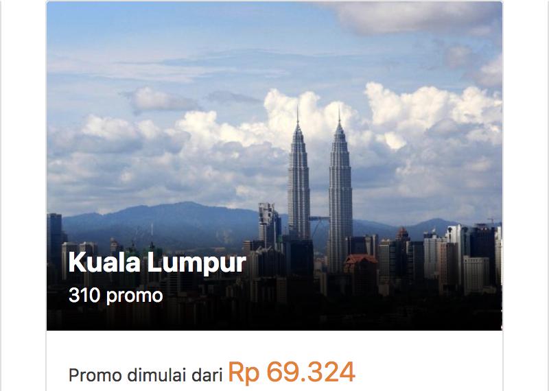Hotel Kuala Lumpur Murah Mulai 69rb