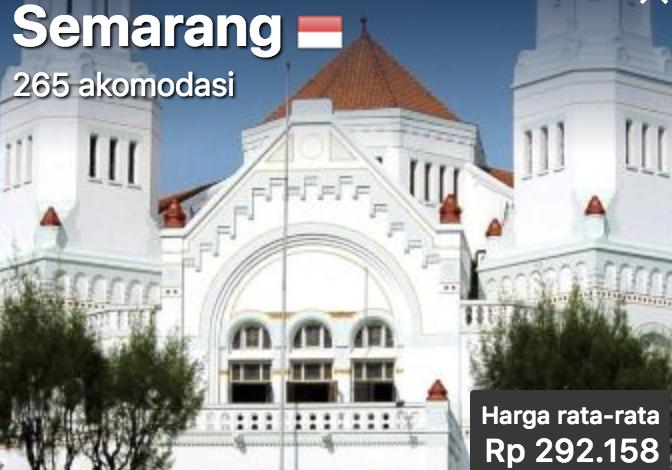Wisata Ke Semarang Hotel Murah Mulai 290rb
