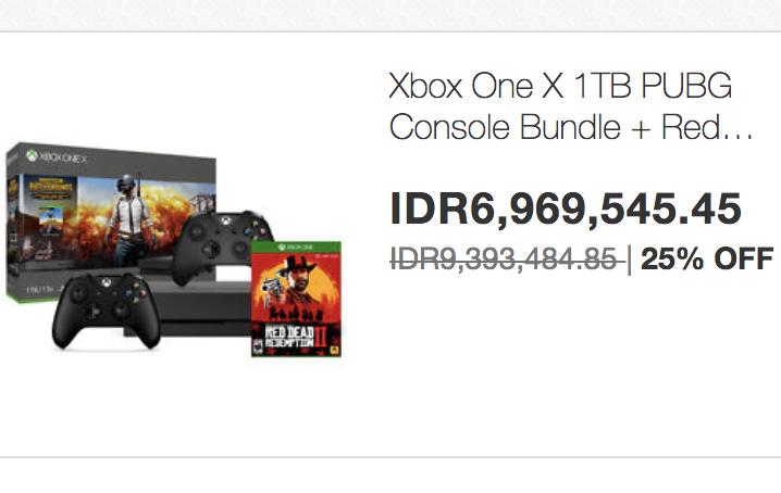 Ebay Voucher Bundling Xbox + CD Game + Wireless Controller 6.9jt