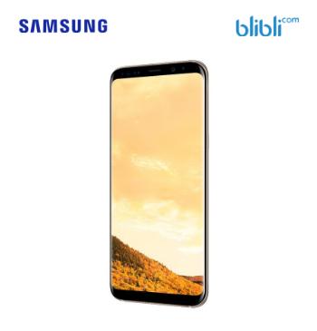 Galaxy S8+ Maple Gold