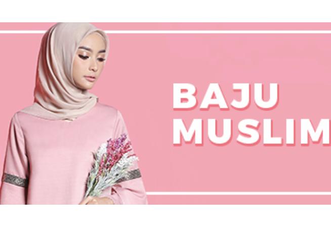 Kupon Sale Stock Pakaian Muslim Mulai dari 45rb