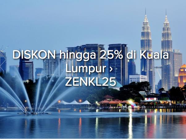 Pergi Ke Malaysia Lebih Hemat Dengan Diskon Hotel 25%
