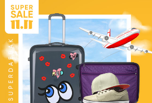 Sneak & Peak Travel Ideas Disc. Up To 70% + Ekstra Diskon 10% + Free Delivery