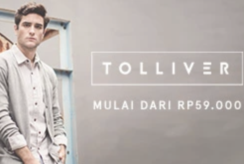Voucher Zalora Tolliver Men's Apparel Starts From 59K