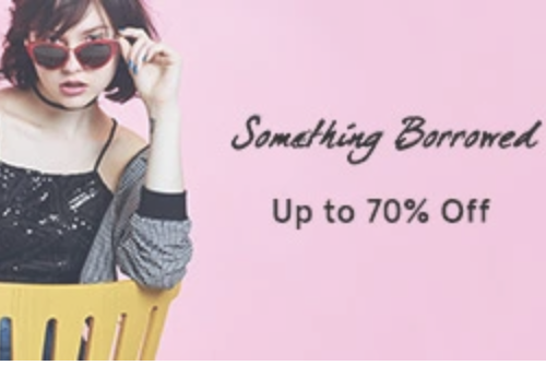 Something Borrowed Diskon Up To 70%
