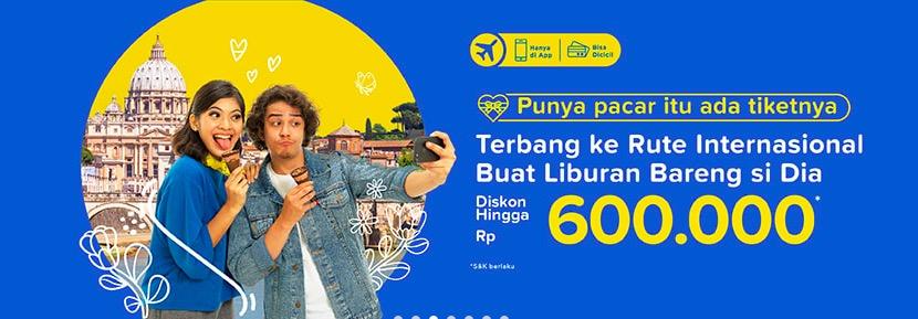 Promo TIket.com Diskon Rp 500.000