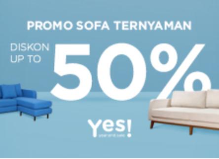 Fabelio Sofa Diskon 50% Hingga 2jt