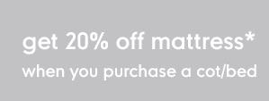Diskon 20% Off Matras