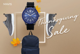 Mavis: Thanksgiivng Sale All Discount 70% + Ekstra Diskon 30%