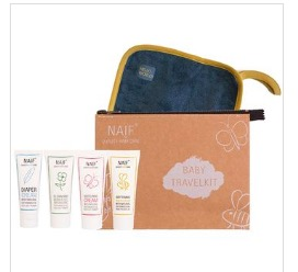 Naïf Baby Travel Kit