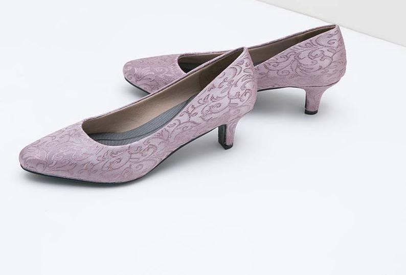Purple Heels Diskon 50%