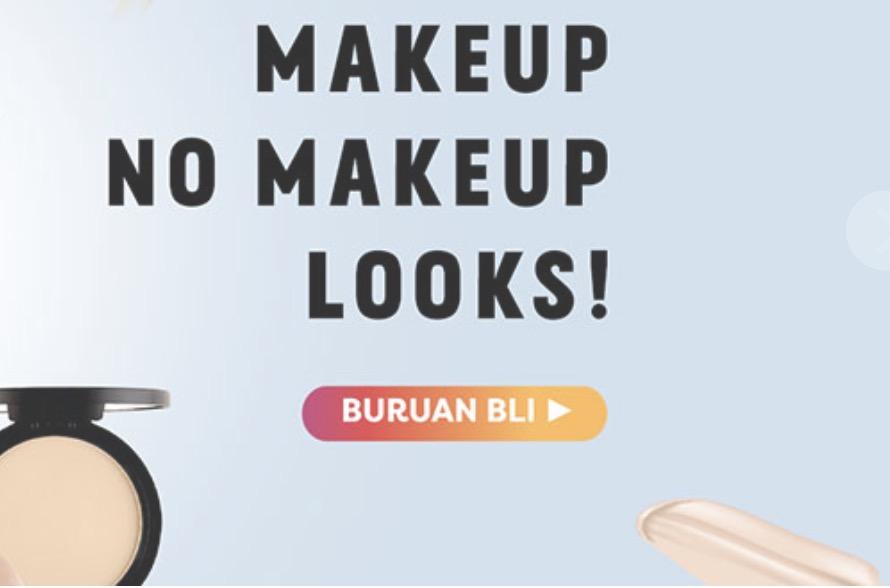 Voucher Gogobli Natural Make Up Diskon Hingga 56%