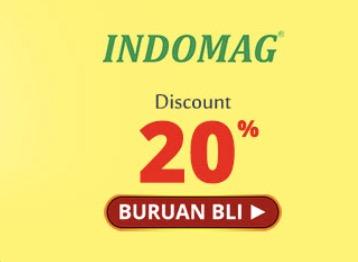 Diskon Indomag 20%