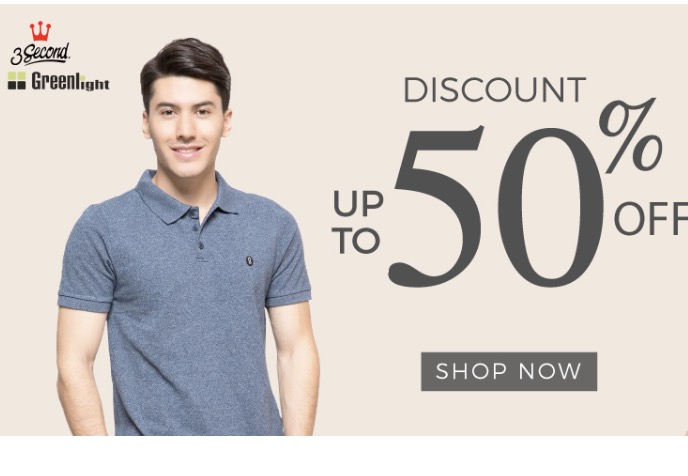 3Second & Greenlight Diskon Up To 50%