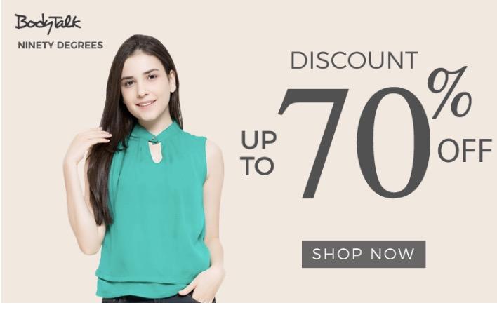 Matahari Diskon Pakaian Wanita Hingga 70%