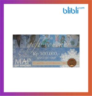Voucher MAP Rp 100rb