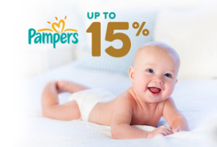 Promo Pampers Up To 15%