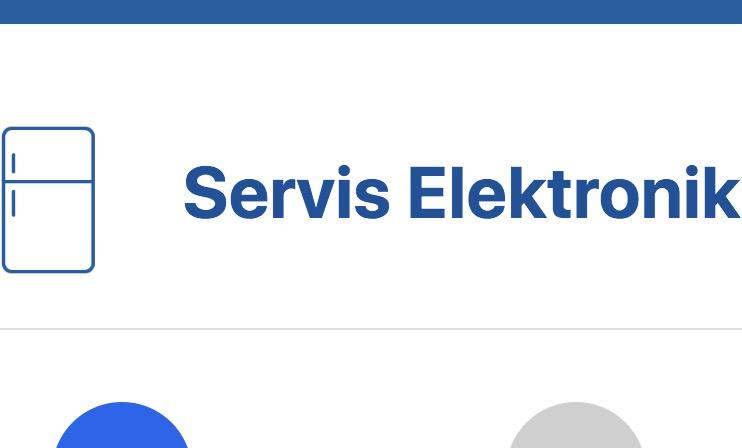Servis Elektronik Mulai dari 80rb