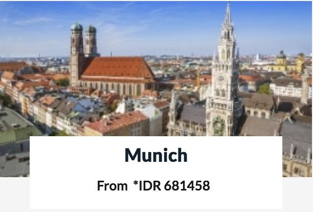 Promo Hotel Murah Di Munich 600rban