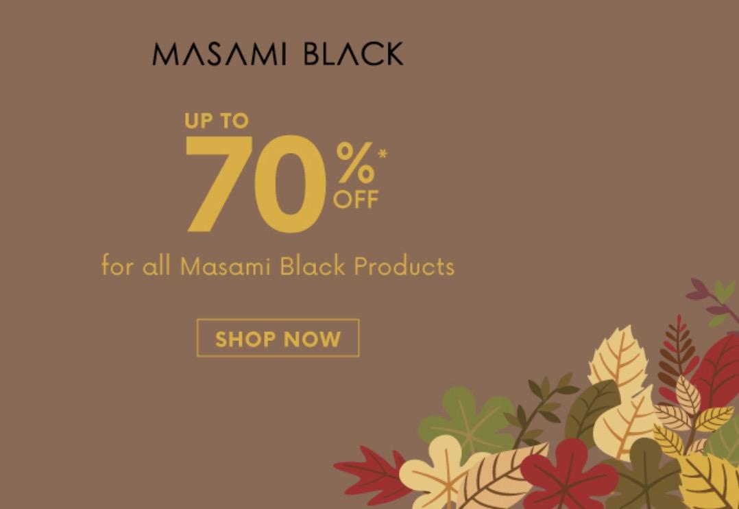 Diskon Hingga 70% Brush Masami Black