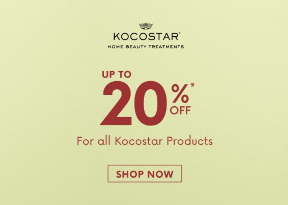 Kocostar Diskon 20% All Product