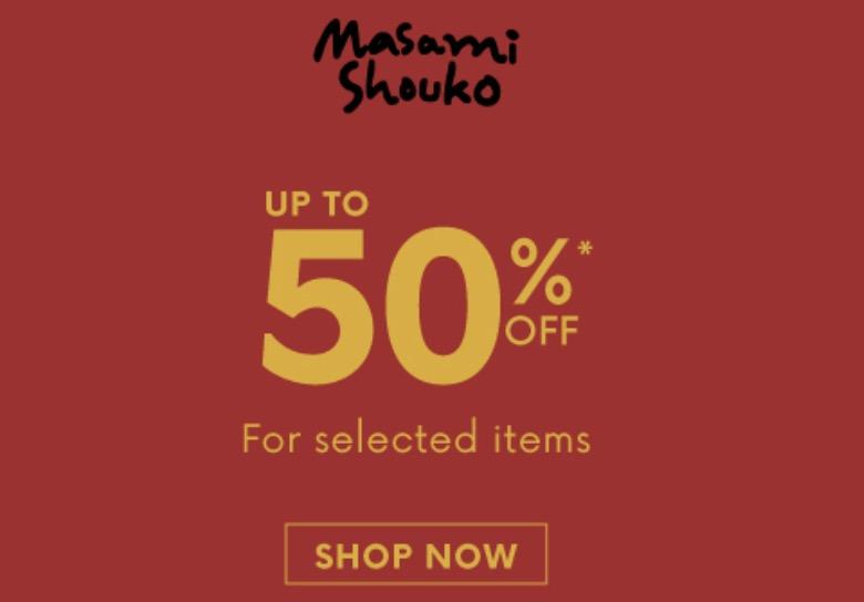 Masami Shouko Diskon Hingga 50%