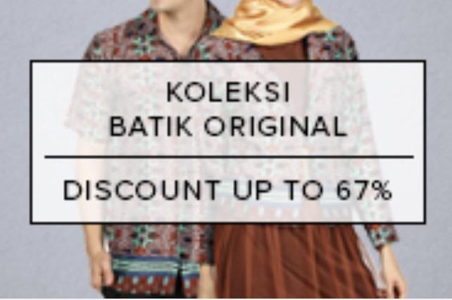 Batik Lokal Diskon 67%